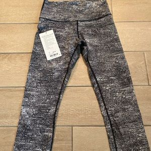 Lululemon Wunder Under Crop